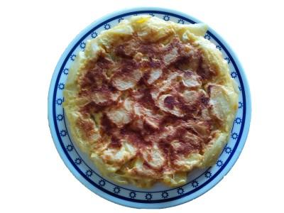 Tortilla catalana, dice ella...